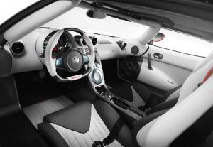 Koenigsegg Agera R салон