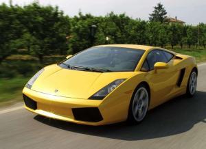 Lamborghini Gallardo желтый