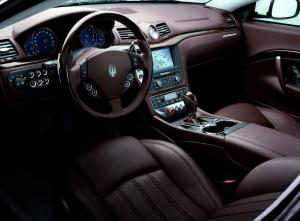 Maserati GranTurismo салон