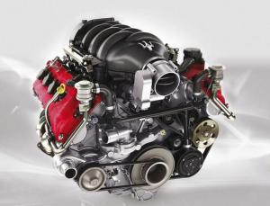 Maserati GranTurismo двигатель