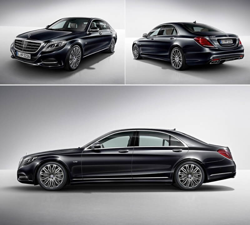 Фотография Mercedes-Maybach S600