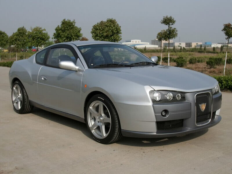 Geely Coupe Concept 2007 года