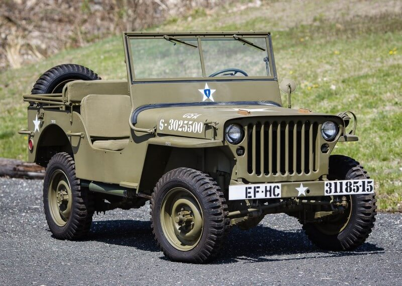 Jeep Willys MB 1944 года