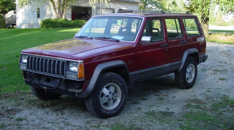 Cherokee Limited 1990 года
