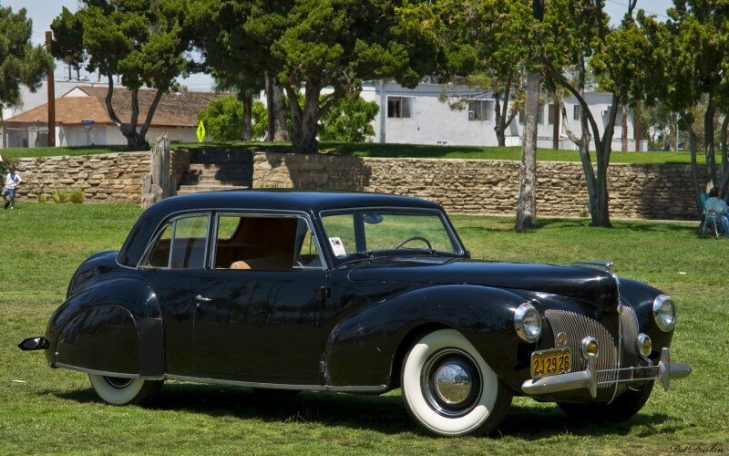 Lincoln Continental Coupe 1940 года