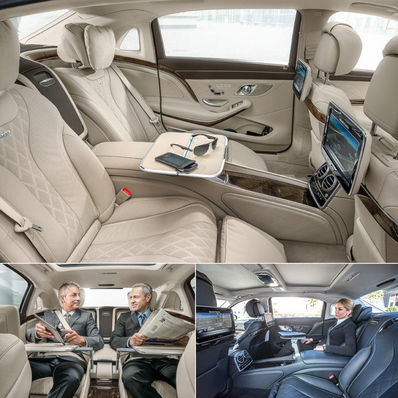 Mercedes-Maybach S600 салон