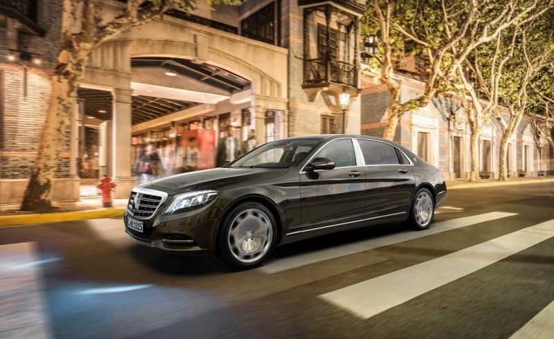 Mercedes Maybach S600 2015 года