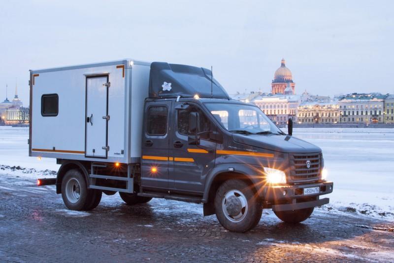 Новенький пикап фирмы «ГАЗ» - его характеристики на автовыставке