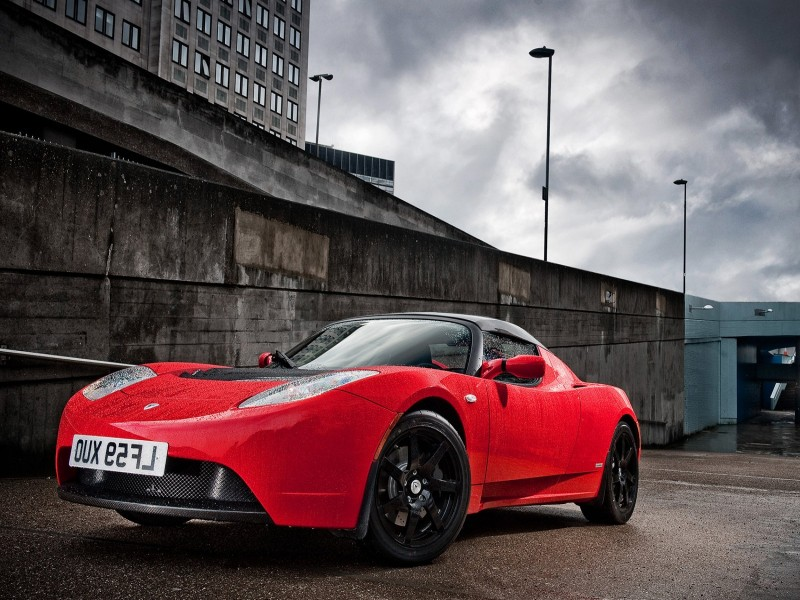 Tesla Roadster UK-Version