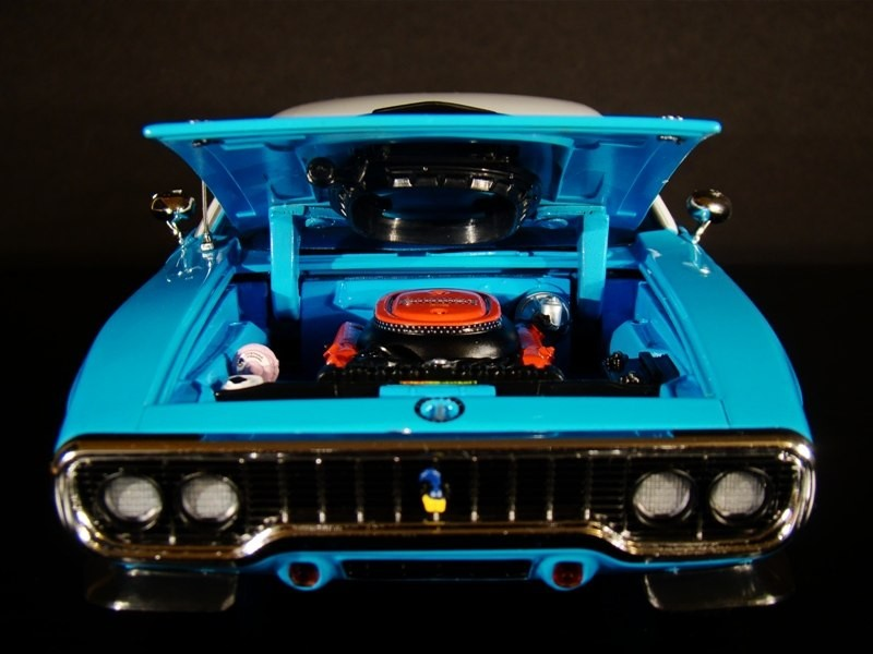 Двигатель Plymouth Road Runner 440-6