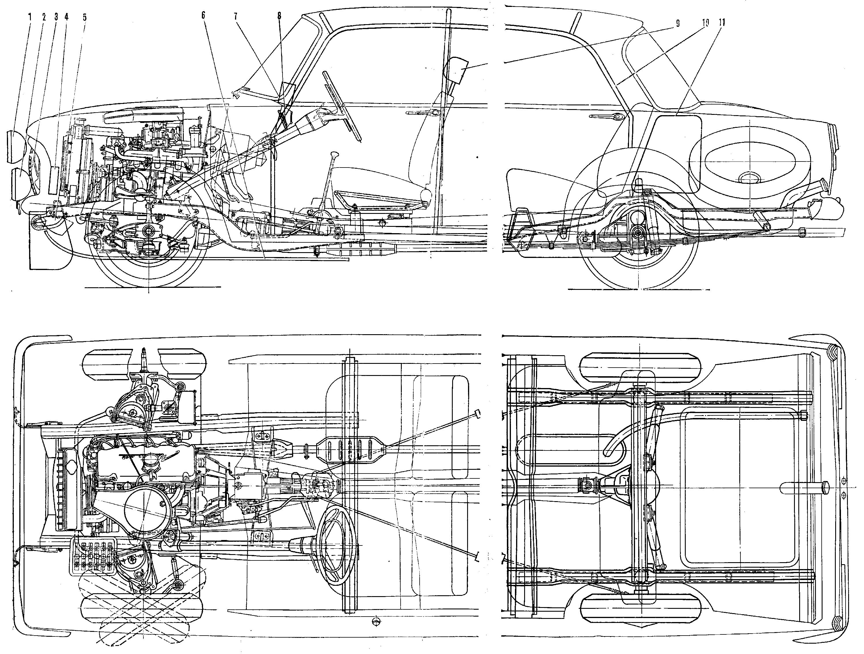 Коробка передач москвич 412 схема фото 23