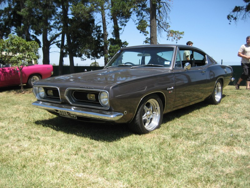 Plymouth Barracuda 1968 года