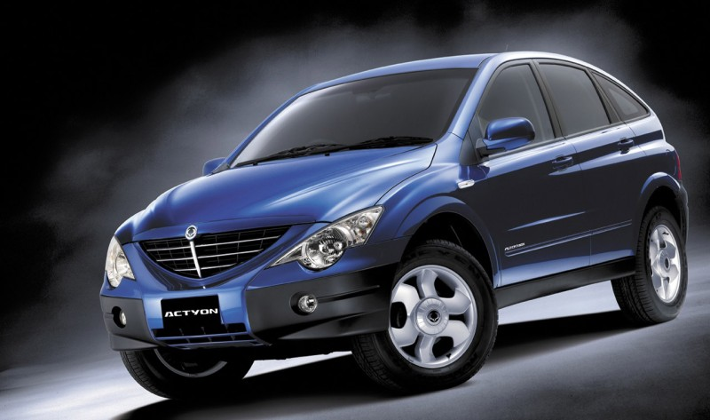 Автомобиль SsangYong Rexton W