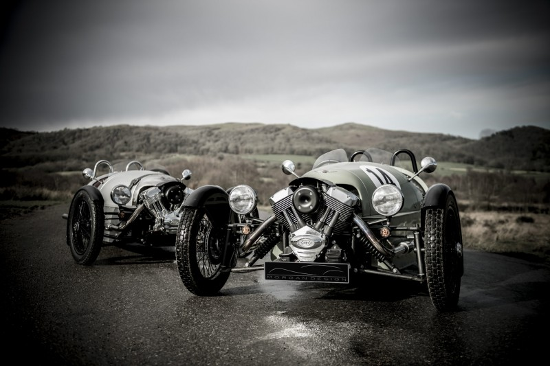 Рhoto auto Morgan 3 Wheeler