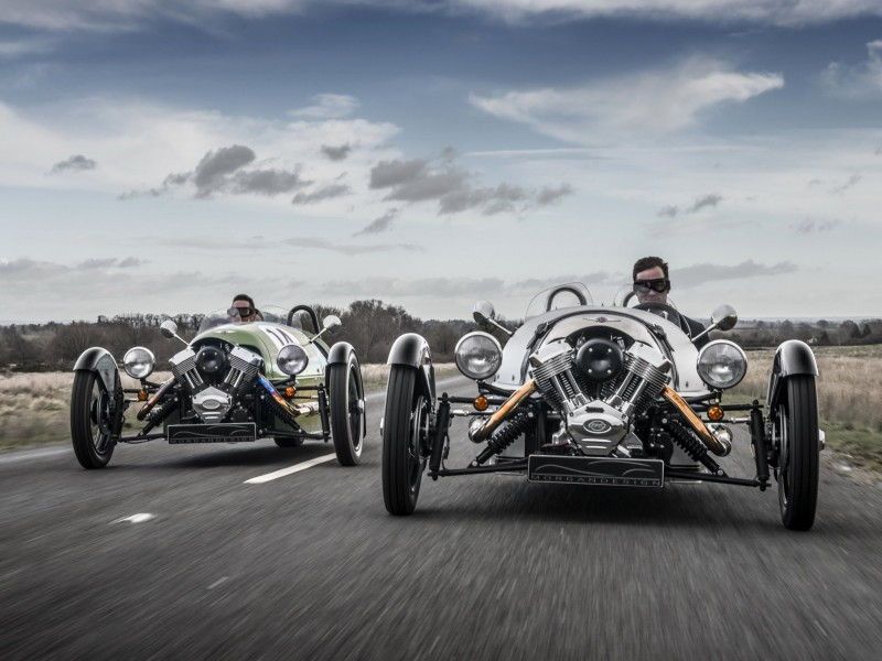 Morgan 3 Wheeler родстер