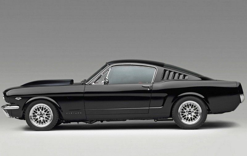 Ford Mustang Fastback вид сбоку