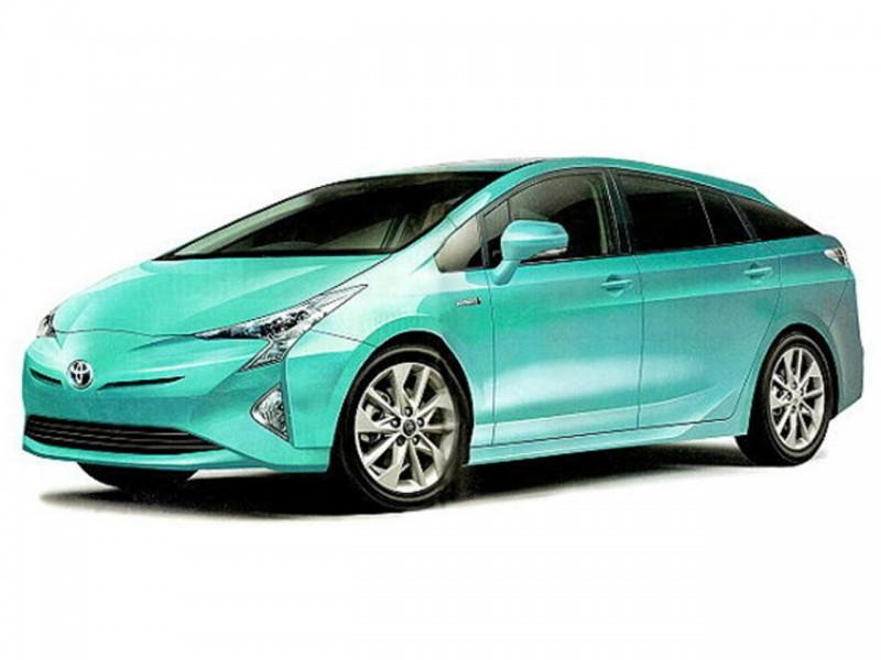 Toyota Prius без дополнительной информации