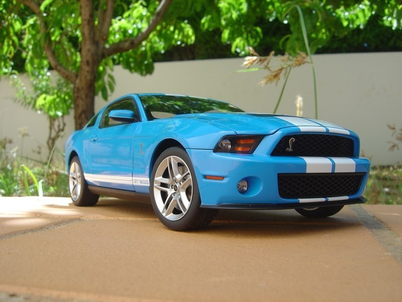 Ford Shelby Mustang GT500 фото