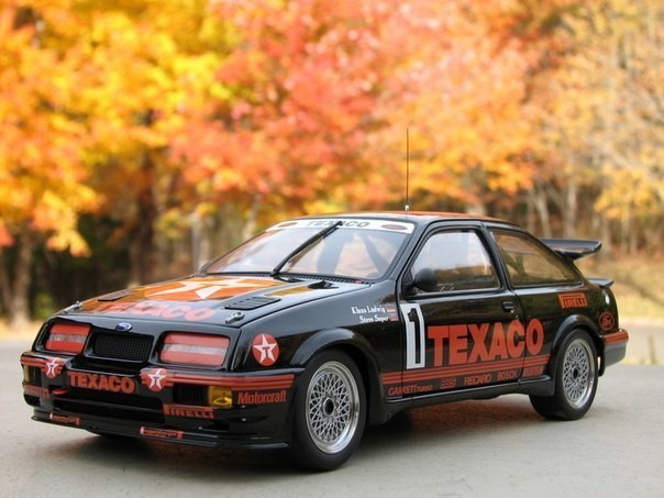 Ford Sierra RS500 Cosworth Group A фото