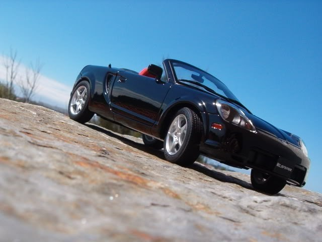 Toyota MR2 Spyder фотография авто