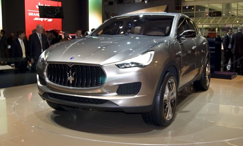 Новый необычный кроссовер от Maserati
