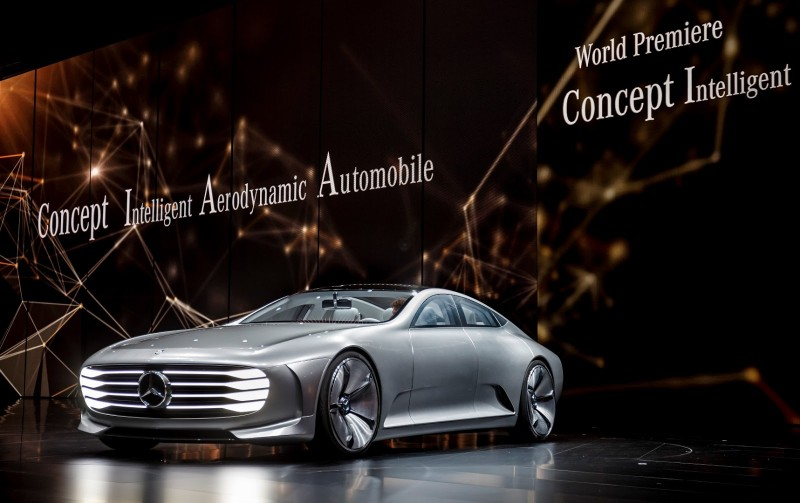 Автомобиль Mercedes-Benz IAA