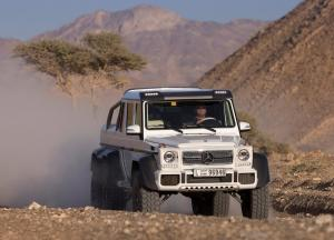 Mercedes-Benz G63 AMG 6x6 photo