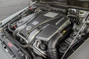 Mercedes-Benz G63 AMG 6x6 двигатель