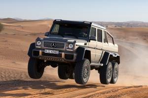 Mercedes-Benz G63 AMG 6x6 photo auto