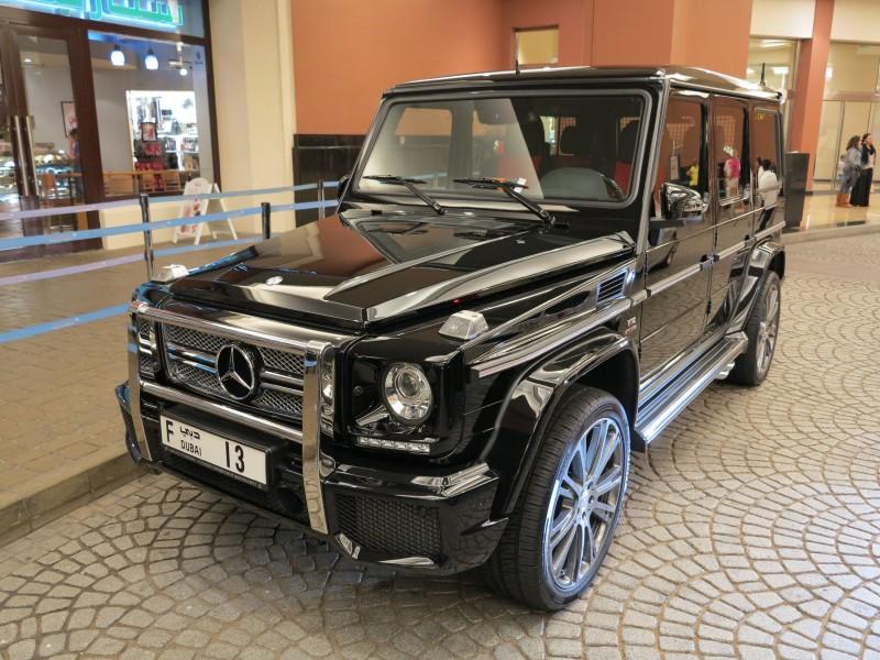 Внедорожник Mercedes-Benz G63 AMG 6x6