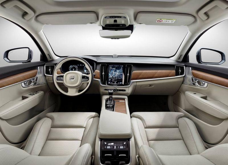 Volvo V90 интерьер