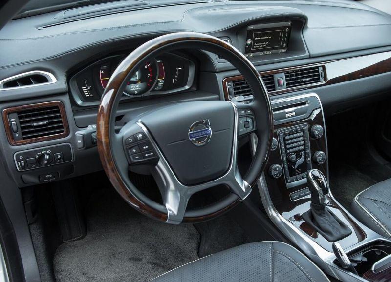 Volvo S80 интерьер
