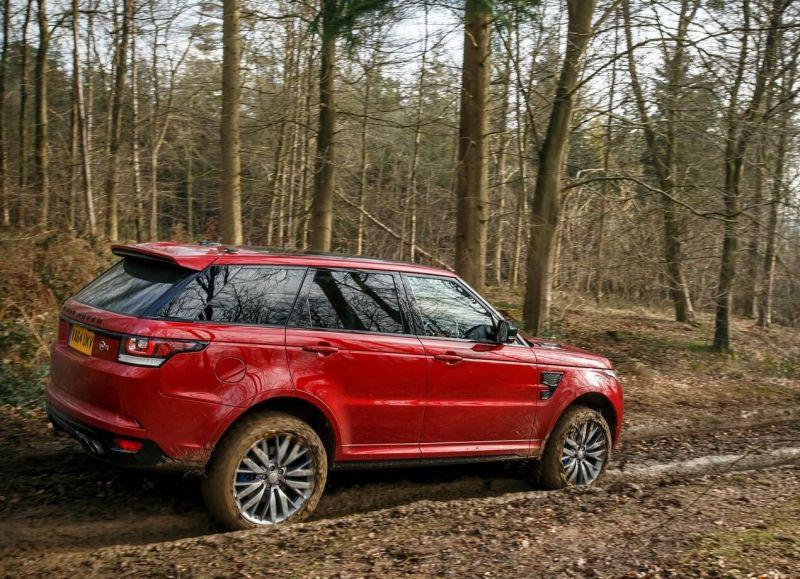 Land Rover Range Rover Sport SVR авто
