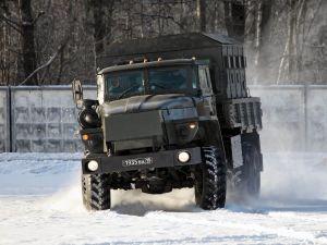 Фотография автомобиля Урал-4320