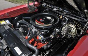 Фото двигателя Chevrolet Chevelle SS