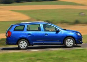 Вид сбоку Dacia Logan MCV 2