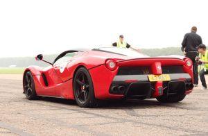 Ferrari FXX K вид сзади