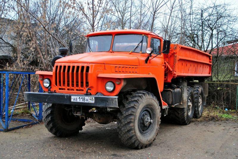 Урал-5557 фото бортовой