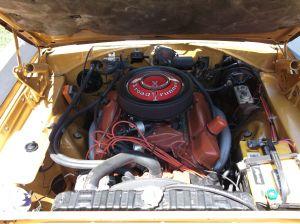 Plymouth Road Runner фото двигателя
