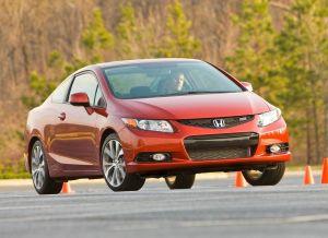 Honda Civic Si вид спереди