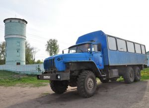 Грузопассажирский Урал 3255