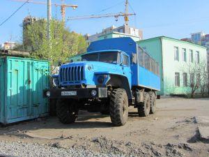 Вахтовый автобус Урал 32552 0013 41