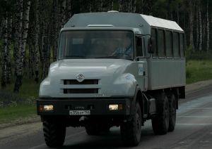 Вахтовый автобус Урал-3255-48
