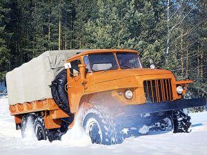 Грузовик Урал-375Д