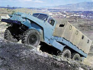 Авто Урал-375Д