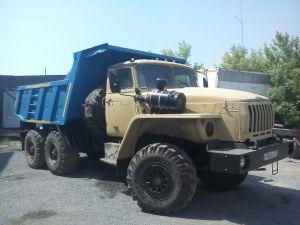 Самосвал Ural-5557