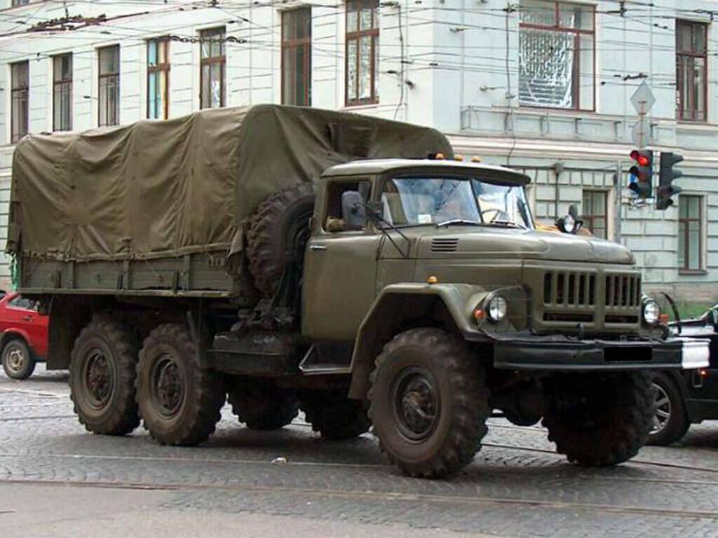 фото военный зил 131