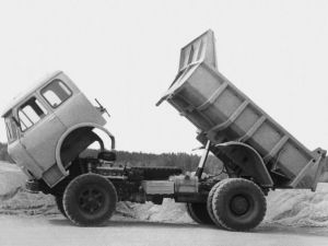 Вид сбоку МАЗ-503