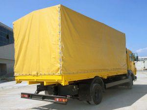 Вид сзади КамАЗ-4308
