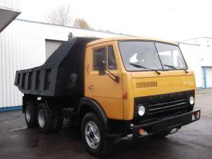 Вид спереди КамАЗ-5511